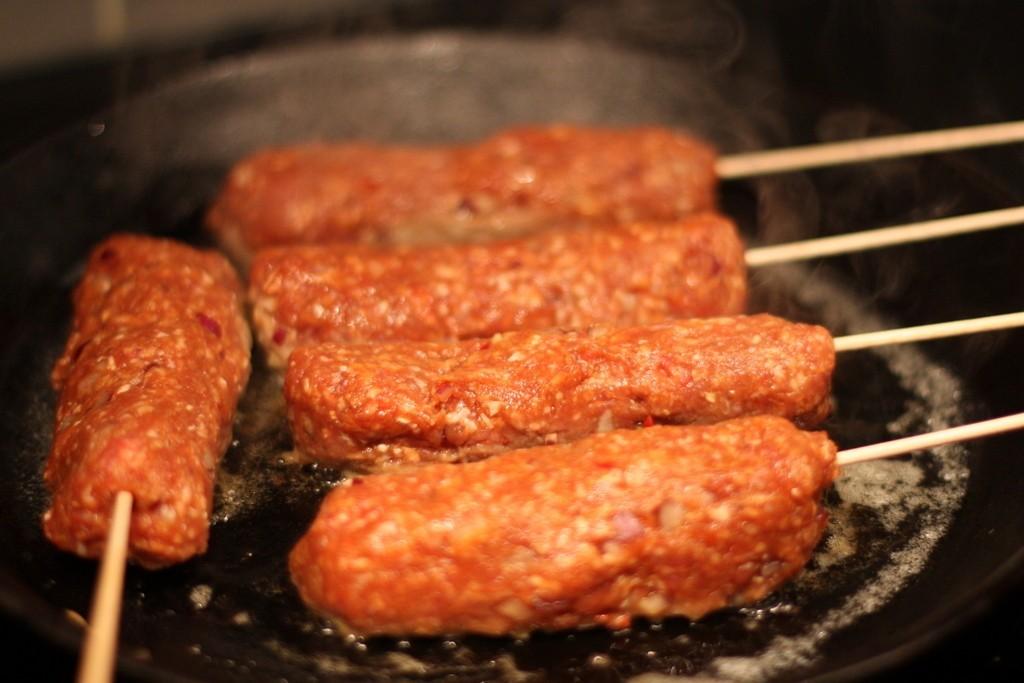 Spett med köttfärs. Gott!